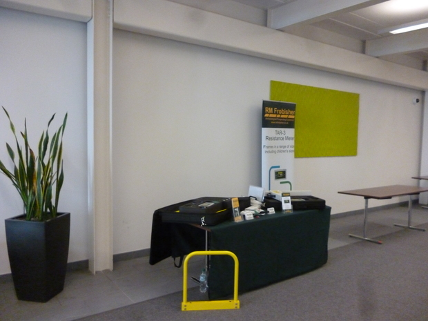 RM Frobisher's stand at The CAA-UK's Winchester Conference