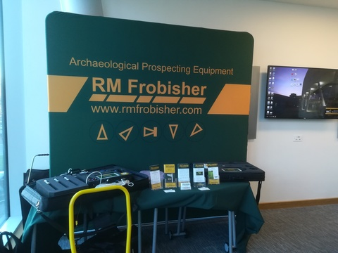 RM Frobisher at the Postgraduate Conference in Conflict Archaeology 2017, University of Huddersfield