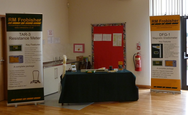 RM Frobisher's stand at Aspects of Invasion in the East Midlands