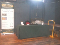 RM Frobisher's stand at The Rural Settlement in Roman Yorkshire Conference
