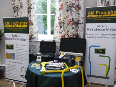 RM Frobisher's stand at the the RAI's The Neolithic of Northern England Conference, Carlisle.