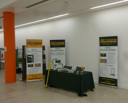 RM Frobisher's stand at Post-Medieval Archaeology Congress: 50 years of SPMA