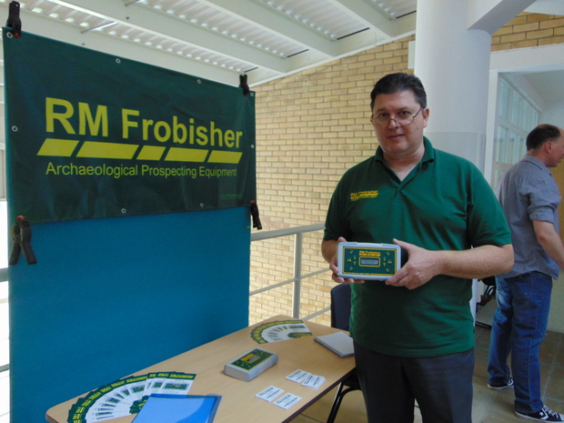 RM Frobisher at the Dearne Valley archaeology Day 2015