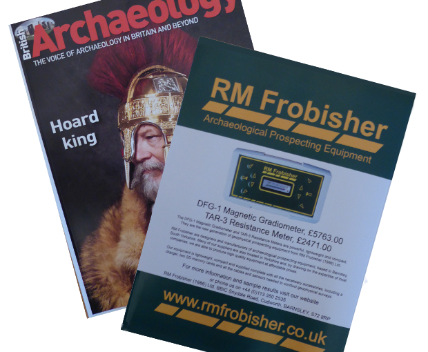 Our advert in British Archaeology