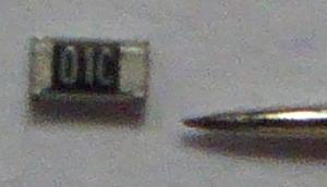 Pin and Resistor